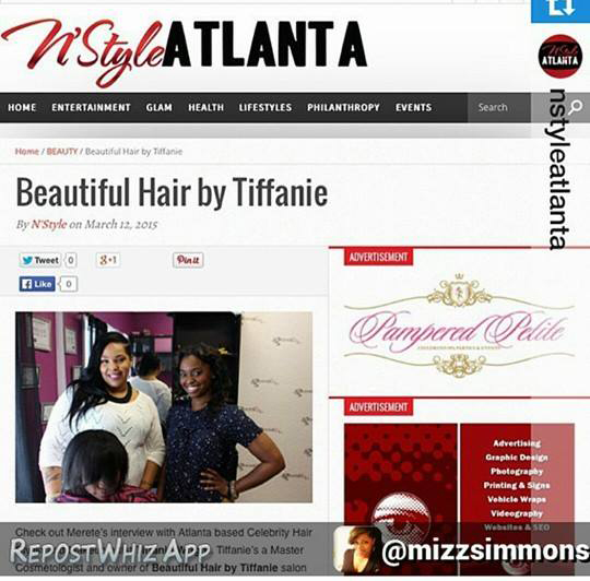 The Wright Hair Empire owner featured in NStyle Atlanta