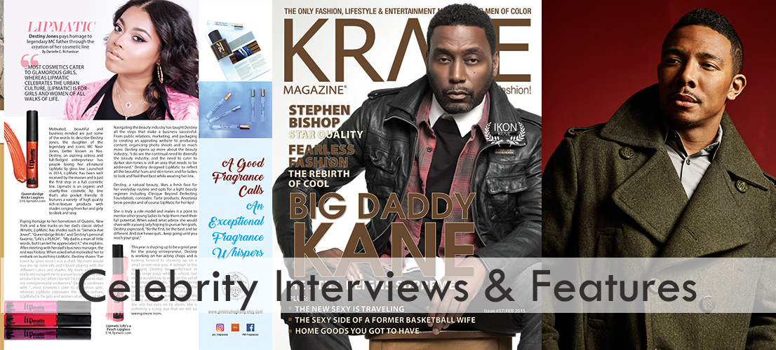 Celebrity Interviews & Features